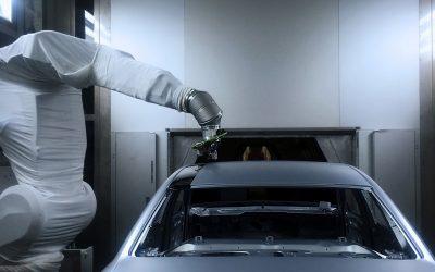 Audi test nieuwe spuitproces